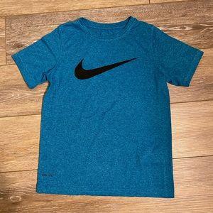 Boy's Nike Dri-Fit Blue T-Shirt Sz S